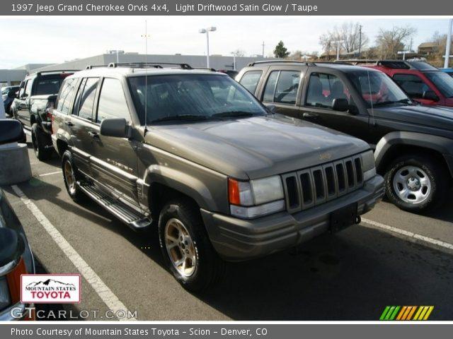 Light driftwood satin glow 1997 jeep grand cherokee - 1997 jeep grand cherokee interior ...