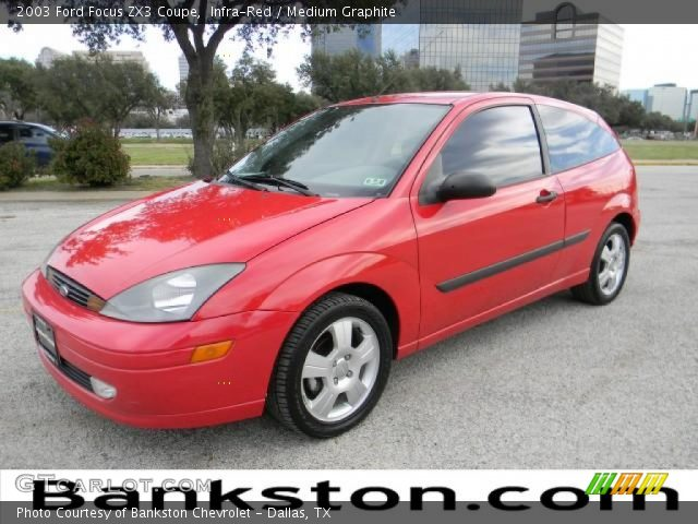infra red 2003 ford focus zx3 coupe medium graphite. Black Bedroom Furniture Sets. Home Design Ideas