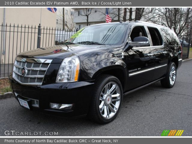 black ice 2010 cadillac escalade esv platinum awd. Black Bedroom Furniture Sets. Home Design Ideas