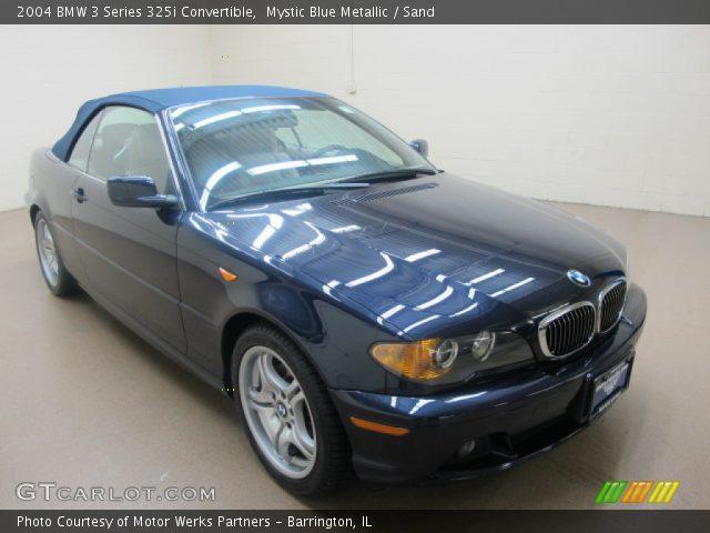 2004 BMW 3 Series 325i Convertible in Mystic Blue Metallic