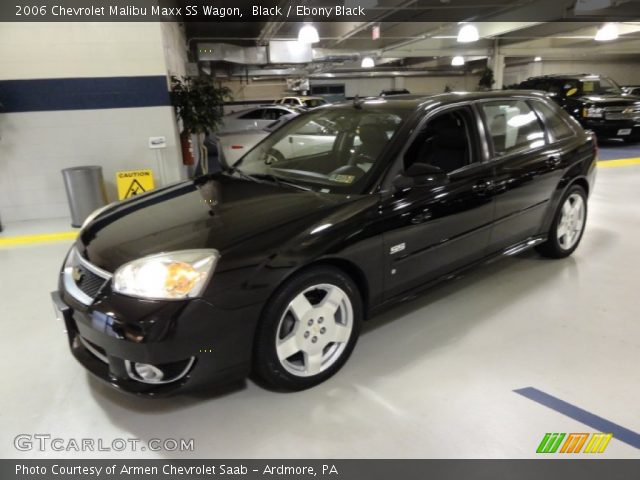 2006 Chevrolet Malibu Maxx SS Wagon in Black. Click to see large photo ...