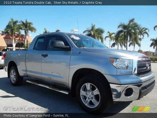 silver sky metallic 2010 toyota tundra double cab. Black Bedroom Furniture Sets. Home Design Ideas