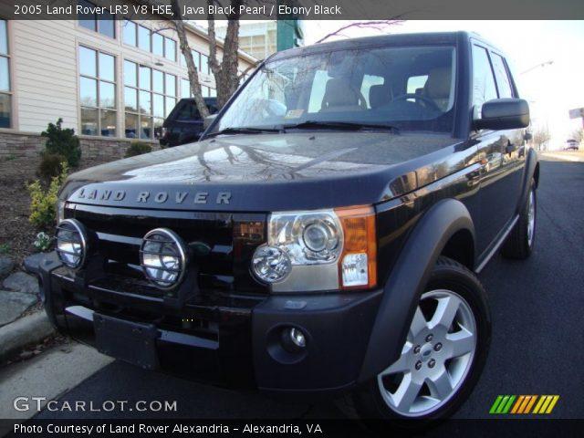 java black pearl 2005 land rover lr3 v8 hse ebony. Black Bedroom Furniture Sets. Home Design Ideas