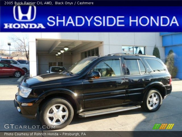 2005 Buick Rainier CXL AWD in Black Onyx