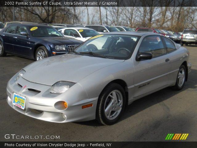 2002 Pontiac Sunfire GT Coupe in Ultra Silver Metallic