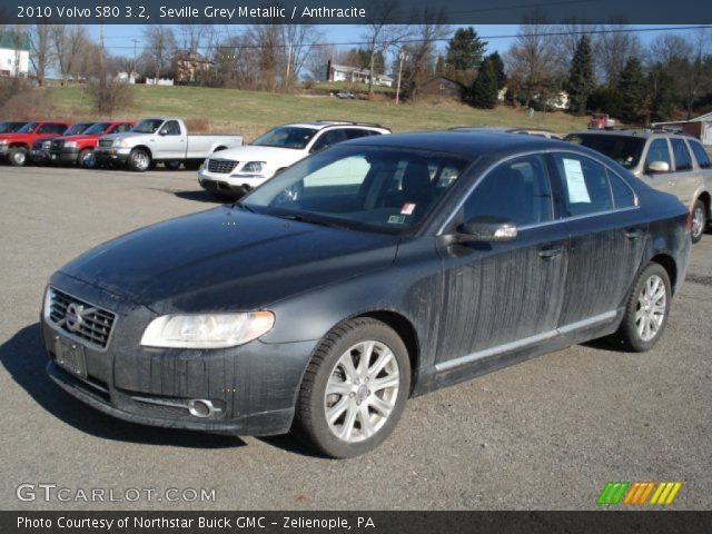 seville grey metallic 2010 volvo s80 3 2 anthracite. Black Bedroom Furniture Sets. Home Design Ideas