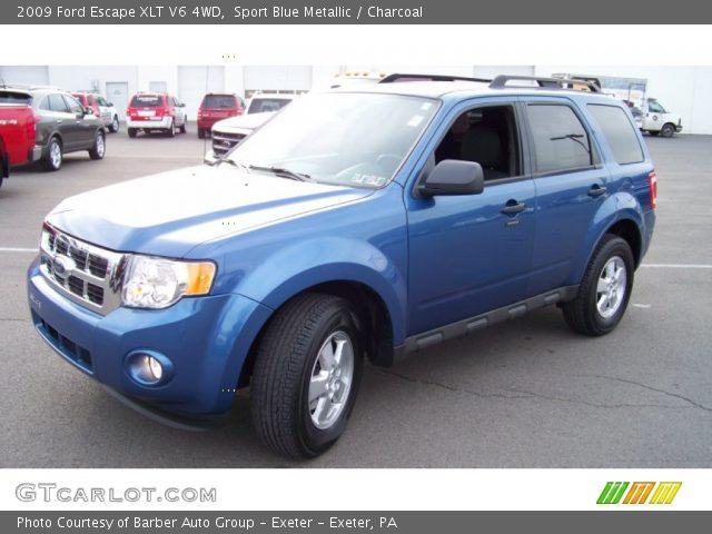 sport blue metallic 2009 ford escape xlt v6 4wd. Black Bedroom Furniture Sets. Home Design Ideas