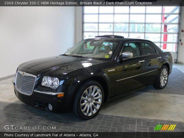 Brilliant Black - 2009 Chrysler 300 C HEMI Heritage Edition - Dark on chrysler 300m on 18s, walter chrysler pacifica edition, chrysler 300 parts, chrysler 300 tune-up, chrysler v1.0, chrysler girl,