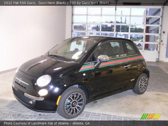 2012 Fiat 500 Gucci in Gucci Nero (Black)