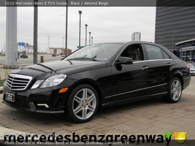 2010 Mercedes-Benz E 550 Sedan in Black
