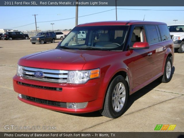 red candy metallic 2011 ford flex sel medium light. Black Bedroom Furniture Sets. Home Design Ideas