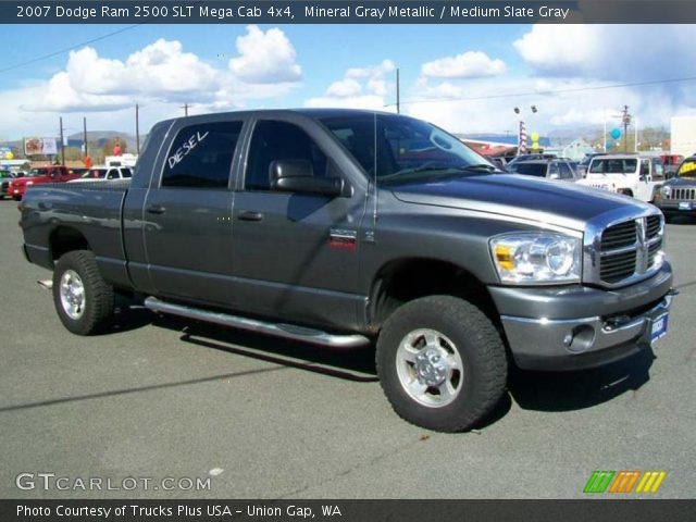mineral gray metallic 2007 dodge ram 2500 slt mega cab. Black Bedroom Furniture Sets. Home Design Ideas
