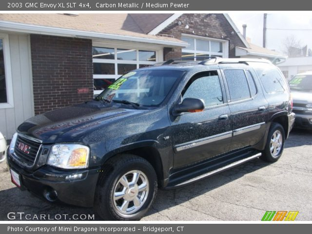 carbon metallic 2003 gmc envoy xl slt 4x4 medium. Black Bedroom Furniture Sets. Home Design Ideas