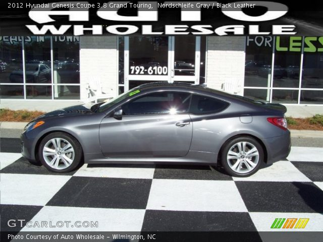 nordschleife gray 2012 hyundai genesis coupe 3 8 grand touring black leather interior. Black Bedroom Furniture Sets. Home Design Ideas