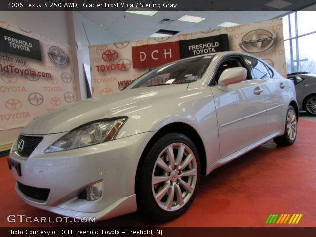 glacier frost mica 2006 lexus is 250 awd sterling gray interior vehicle. Black Bedroom Furniture Sets. Home Design Ideas