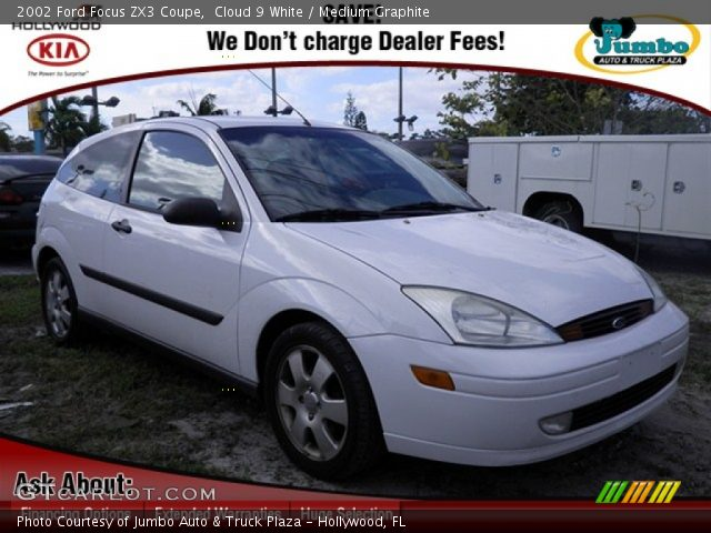 cloud 9 white 2002 ford focus zx3 coupe medium. Black Bedroom Furniture Sets. Home Design Ideas