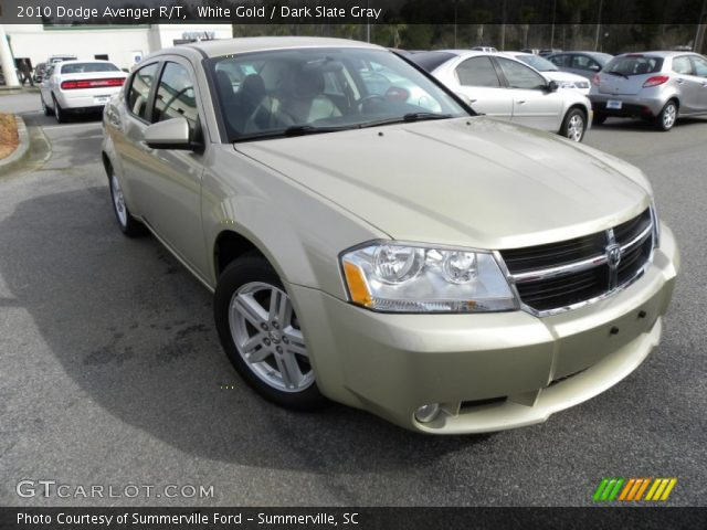 white gold 2010 dodge avenger r t dark slate gray. Black Bedroom Furniture Sets. Home Design Ideas