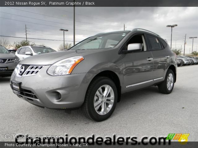 Platinum graphite 2012 nissan rogue sv black interior - 2012 nissan rogue exterior colors ...