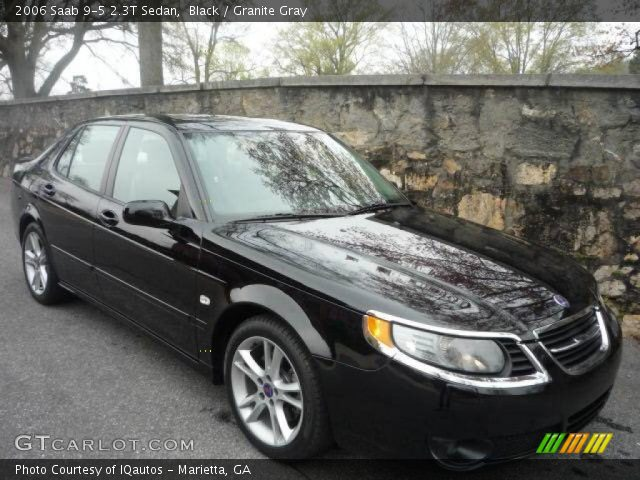 2006 Saab 9 5 Sedan. Black 2006 Saab 9-5 2.3T Sedan with Granite Gray interior 2006 Saab 9-5 2.3T
