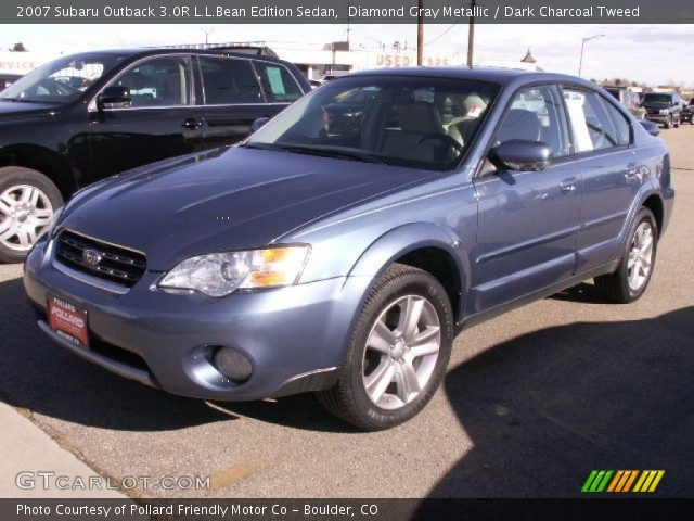 diamond gray metallic 2007 subaru outback 3 0r l l bean. Black Bedroom Furniture Sets. Home Design Ideas