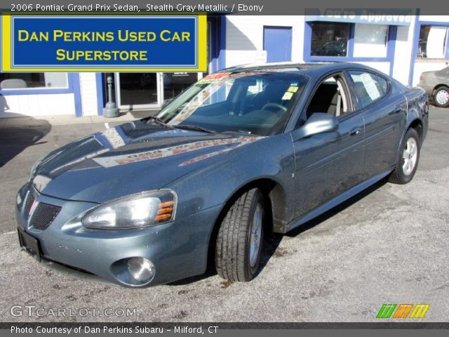 2006 Pontiac Grand Prix Sedan in Stealth Gray Metallic