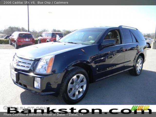 2006 Cadillac SRX V8 in Blue Chip