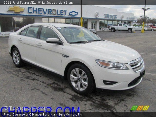 white suede 2011 ford taurus sel light stone interior vehicle archive 60045095. Black Bedroom Furniture Sets. Home Design Ideas
