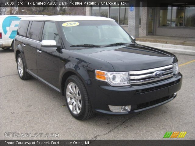 dark ink blue metallic 2009 ford flex limited awd. Black Bedroom Furniture Sets. Home Design Ideas