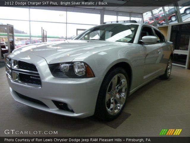 bright silver metallic 2012 dodge charger sxt plus black interior vehicle. Black Bedroom Furniture Sets. Home Design Ideas