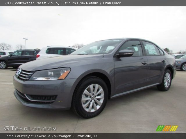 2012 Volkswagen Passat 2.5L S in Platinum Gray Metallic