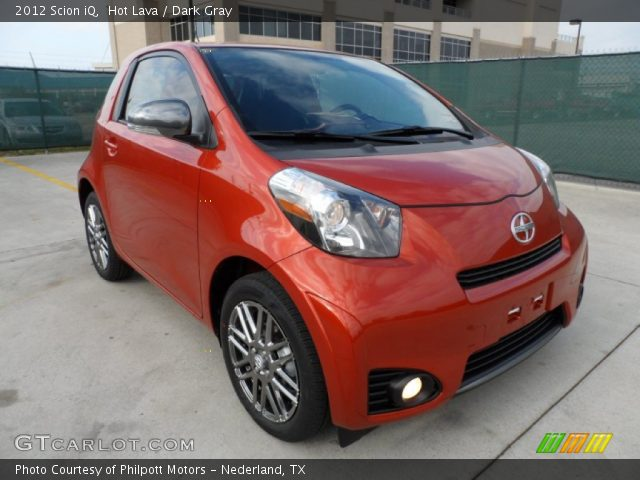 2012 Scion iQ  in Hot Lava