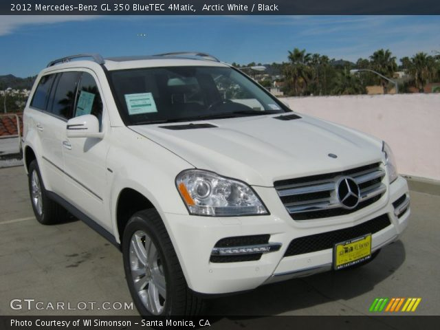 arctic white 2012 mercedes benz gl 350 bluetec 4matic. Black Bedroom Furniture Sets. Home Design Ideas