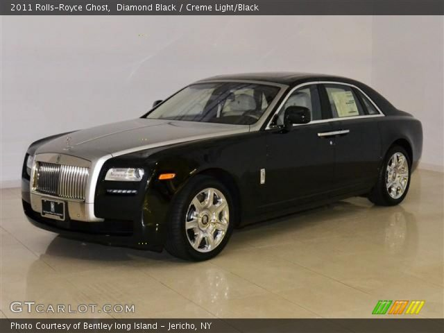 2011 Rolls-Royce Ghost  in Diamond Black