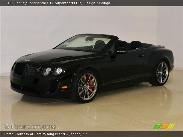 2012 Bentley Continental GTC Supersports ISR in Beluga