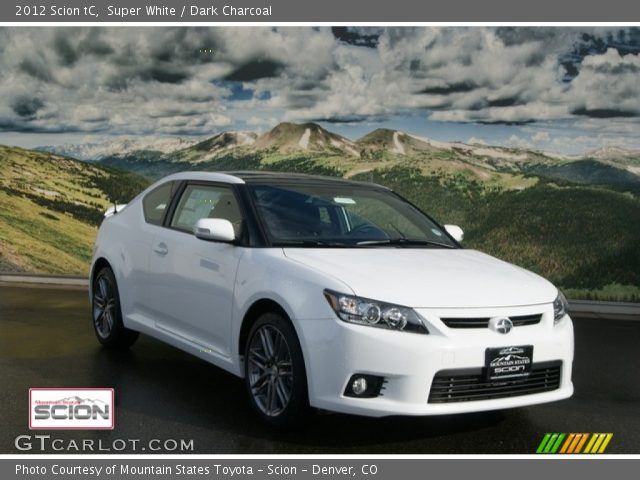 2012 Scion tC  in Super White