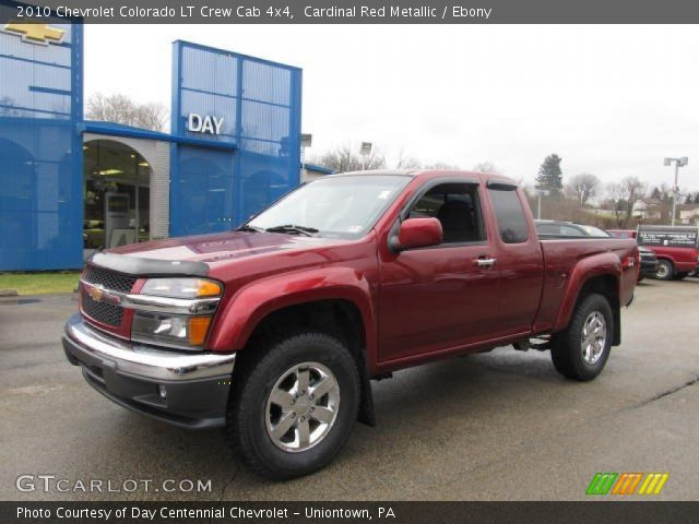 cardinal red metallic 2010 chevrolet colorado lt crew. Black Bedroom Furniture Sets. Home Design Ideas