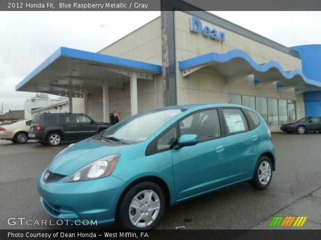 2012 Honda Fit  in Blue Raspberry Metallic