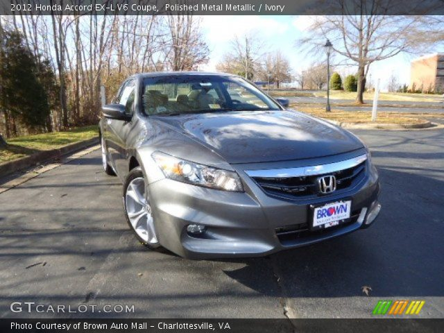 polished metal metallic 2012 honda accord ex l v6 coupe ivory interior. Black Bedroom Furniture Sets. Home Design Ideas