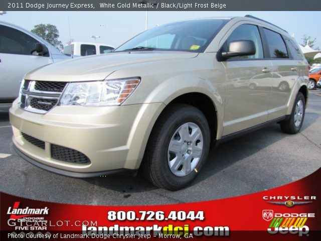 white gold metallic 2011 dodge journey express black. Black Bedroom Furniture Sets. Home Design Ideas
