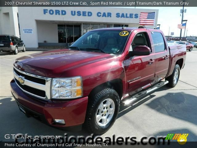 sport red metallic 2007 chevrolet silverado 1500 ltz. Black Bedroom Furniture Sets. Home Design Ideas