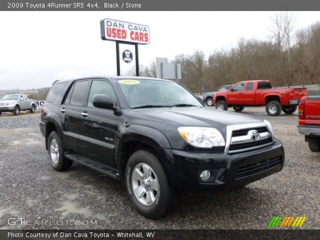 black 2009 toyota 4runner sr5 4x4 stone interior vehicle archive 60289940. Black Bedroom Furniture Sets. Home Design Ideas