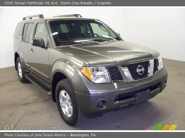 storm gray metallic 2005 nissan pathfinder xe 4x4. Black Bedroom Furniture Sets. Home Design Ideas