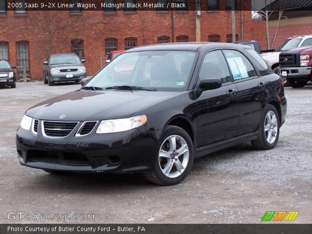 midnight black metallic 2005 saab 9 2x linear wagon. Black Bedroom Furniture Sets. Home Design Ideas