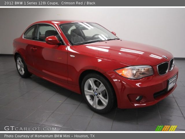 2012 BMW 1 Series 128i Coupe in Crimson Red