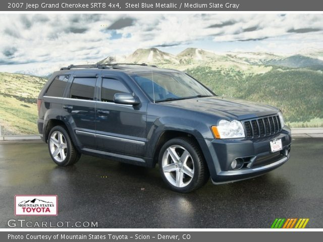 2007 jeep grand cherokee srt8 4x4 in steel blue metallic click to see. Cars Review. Best American Auto & Cars Review