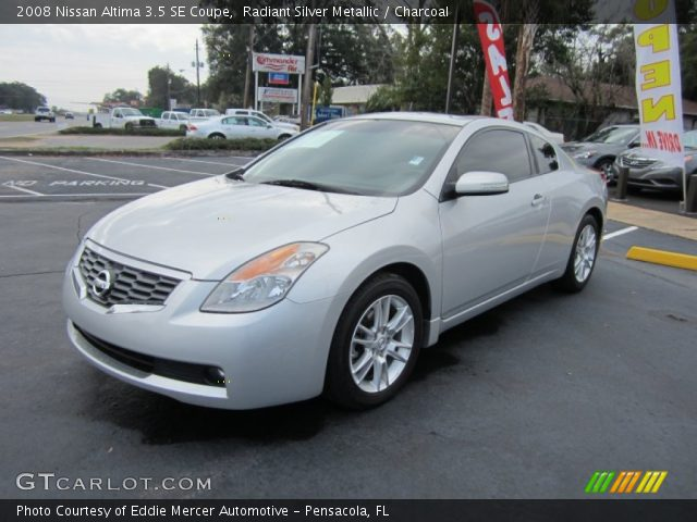 radiant silver metallic 2008 nissan altima 3 5 se coupe. Black Bedroom Furniture Sets. Home Design Ideas
