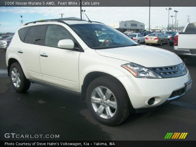 Pearl White 2006 Nissan Murano S Awd Cafe Latte