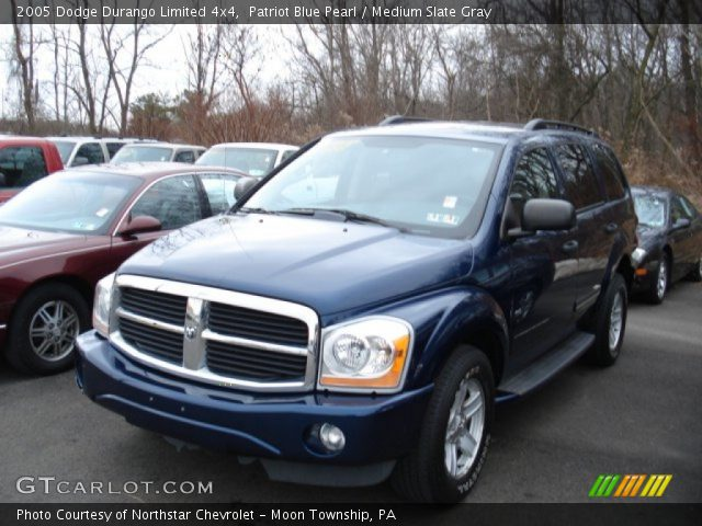 patriot blue pearl 2005 dodge durango limited 4x4. Black Bedroom Furniture Sets. Home Design Ideas