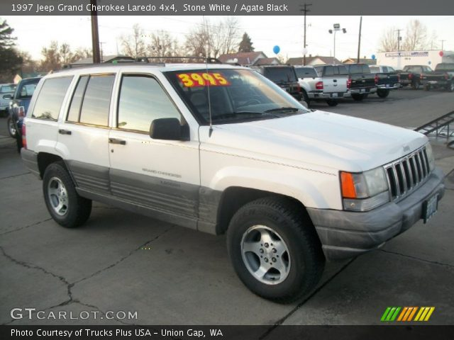 Stone white 1997 jeep grand cherokee laredo 4x4 agate - 1997 jeep grand cherokee interior ...