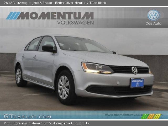 2012 Volkswagen Jetta S Sedan in Reflex Silver Metallic